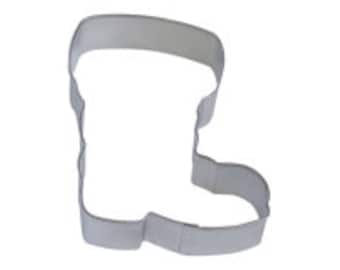 4'' Santa Boot Cookie Cutter