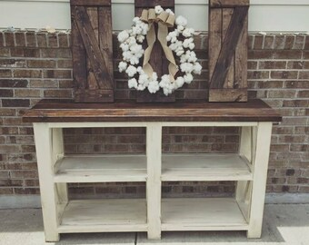 5ft wide console table
