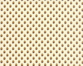 Fabric-Moda-Ivory Foulard Fabric-American Jane #2168711 Lorraine Collection Free Shipping!
