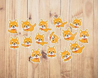 Shiba inu dog  stickers