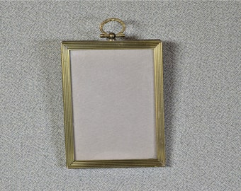 3x4 Frame Vintage Metal Frame with Convex Glass