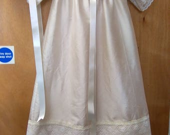 Christening Gown/ Heirloom Bear