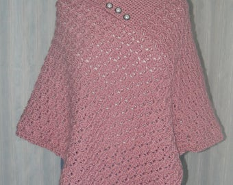 Irish Rose poncho pattern
