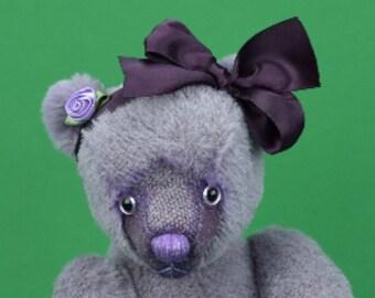 "OOAK Artist Bear ""Violetta"""