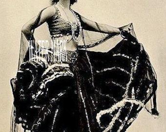 Gypsy girl woman lady dancing *Bohemian**BOHO*Quilt art fabric block*Quilts,Pillows,Sachets,Frame