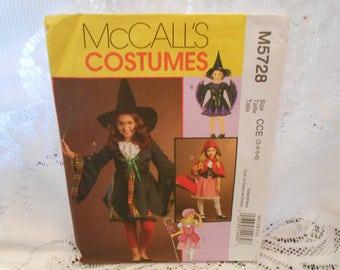 Childs pattern, 3-6, costume pattern, witches pattern, red riding hood, Beau peep pattern, Halloween patterns, Girls witch pattern