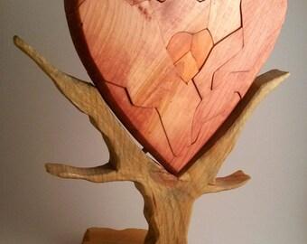 Puzzle of the Broken Heart