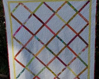 Criss-Cross Lap Quilt