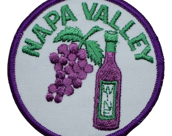 Vintage Napa Valley Wine Patch - California