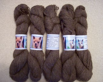 Alpaca Yarn - Toffee and Chillatte (2 ply sport weight)