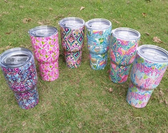 20% OFF SPRING BREAK! Lilly Inspired Print Insulated Tumblers
