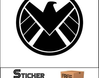 S.H.I.E.L.D. Decal Sticker Marvel JDM