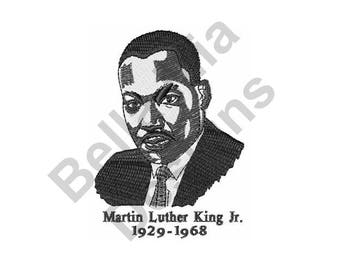 Martin Luther King Jr - Machine Embroidery Design, Motivational Speaker