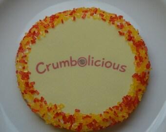 Logo Cookies, Business Cookies, Custom Cookies, Company Logo Cookies, Message Cookies, Custom Name Cookies, Photo Cookies, Corporate Logo