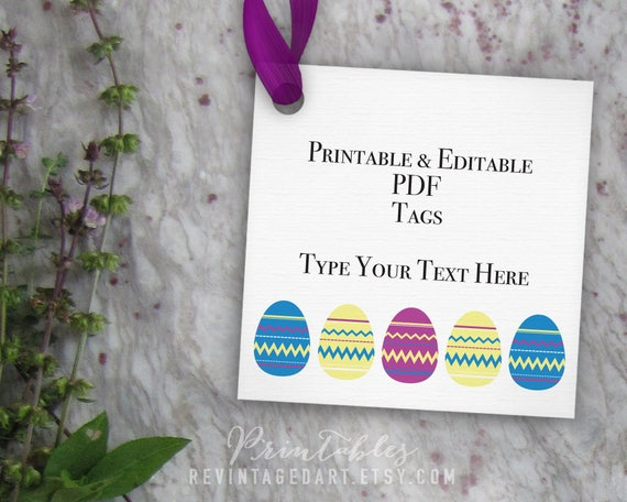 Printable easter tag template blank editable gift tag printable easter tag template blank editable gift tag easter egg tag easter basket gift tag 3 inch 3x3 pdf diy digital download tags negle Choice Image