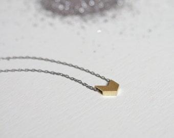 the Mini Chevron necklace
