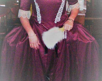17th Century Gown (Costume not 100% Historically Accurate)