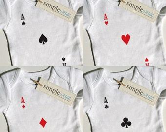 4 of a kind baby bodysuit for quadruplets