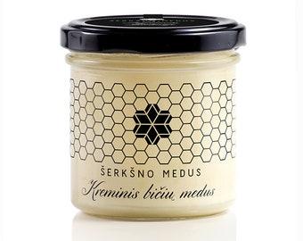 Creamy bee honey, 200 g. (180 g. net weight)