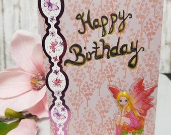 Happy Birthday Pink Fairy