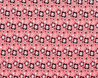 Cotton jersey bird print cotton oekotex  X 50 cm