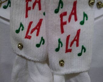 The Christmas sweater alternative.  With matching socks.