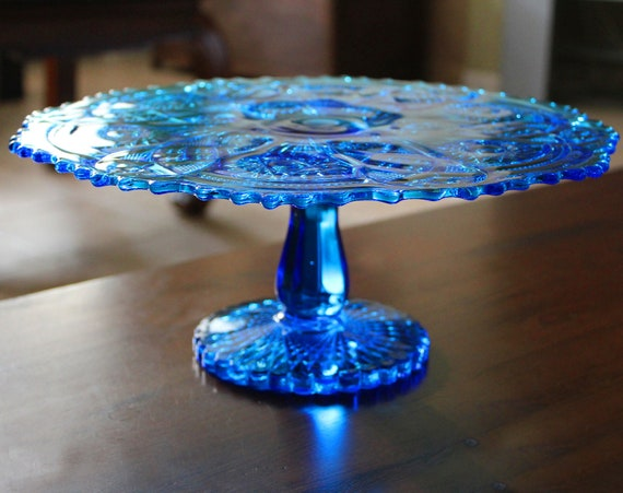 Hobnail Clear Cake Stand