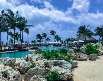 Pool Day, Pool Photography, Water Photography, Landscape Photography, Travel Photography, Beach Landscape, Mexico Landscape