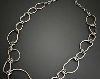 Sterling Silver Handmade Chain By Joy Kruse Wild Prairie Silver