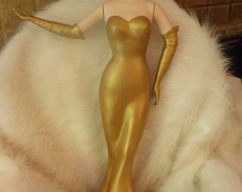 Rare Counter Mannequin.  Old Hollywood Glam.  Display.