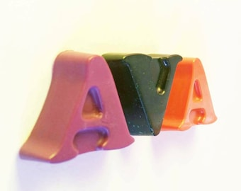 Name Crayons, Alphabet Letters, Crayons, Personalized Gift, ABC, Personalized Name, Party Crayons, Custom Name, Alphabet, Your Name, Novelty