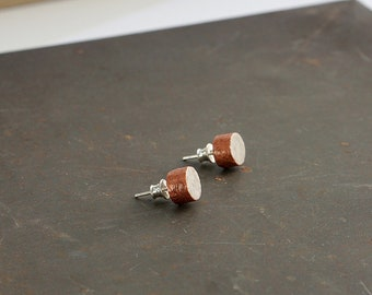 Recycled PAper Earrings, 1st Anniversary Gift