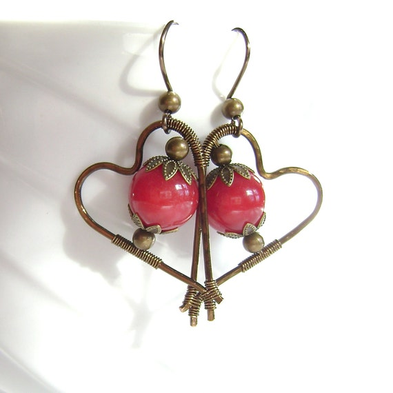 briolette plum earrings quartz filled sterling gold smoky large products