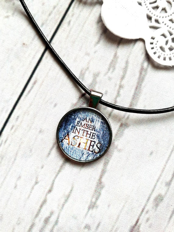 An ember in the ashes pendant necklace sabaa tahir elias like this item aloadofball Images