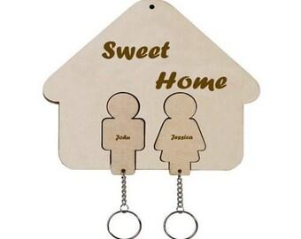 Sweet house key hanger
