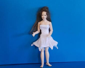 Dollhouse Miniature Wearable Heidi Ott Dress