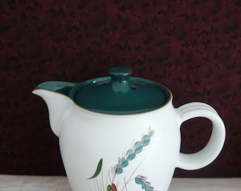Denby Stoneware Greenwheat Coffee Pot by Albert Colledge 1950's Retro Vintage Mid Century