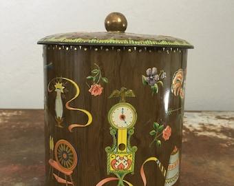 Antique Daher Tea Tin Made in England