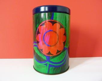 Vintage storage tin Melrose's tea