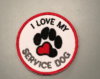 I Love my Service Dog