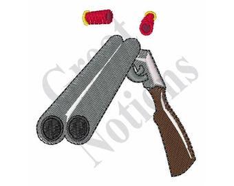 Cartoon Shotgun - Machine Embroidery Design