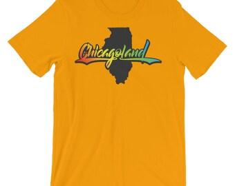 Chicagoland Illinois - Unisex short sleeve t-shirt