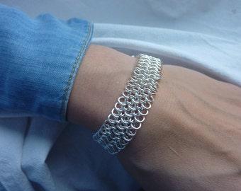Four-in-One European Weave Bracelet
