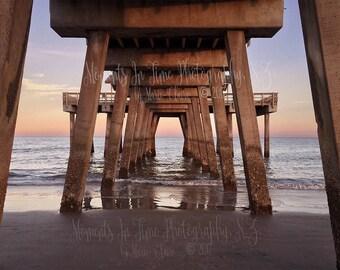 MIT Beach Pier Digital Backdrop