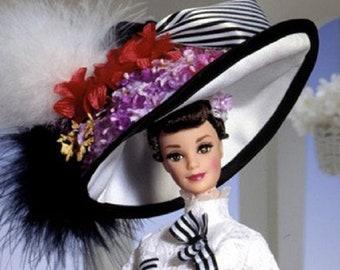 Barbie as Eliza Doolittle in Ascot Gown My Fair Lady