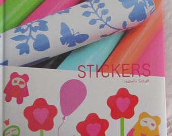 """Book """"Stickers"""" of thumbprint - Isabelle Schaff"""