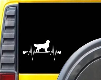 Golden Retreiver Lifeline Window Decal Sticker *F218*