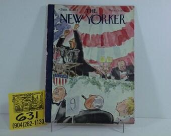 September 1944 New Yorker magazine