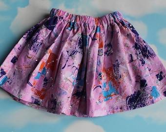 Children Spring Cotton Skirt.
