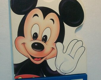 Walt Disney's Mickey Mouse  Have You Seen Pluto Talking Board Book  Vintage Kid's battery Operated Kid's  Book Works